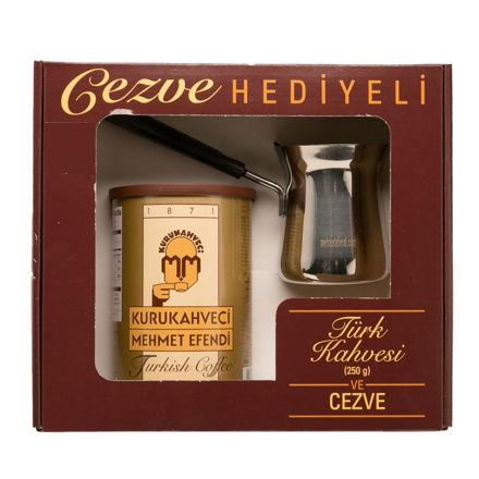 Picture of MEHMET EFENDI Turkish Coffee Gift Set 250g