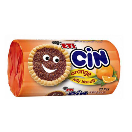 Picture of ETI CIN Orange Jelly Biscuits 351g