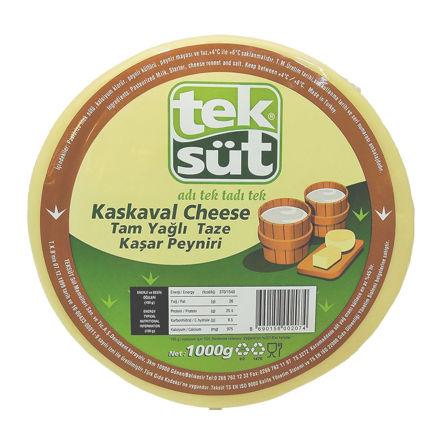 TEKSUT Taze Kasar Peyniri 1kg resmi