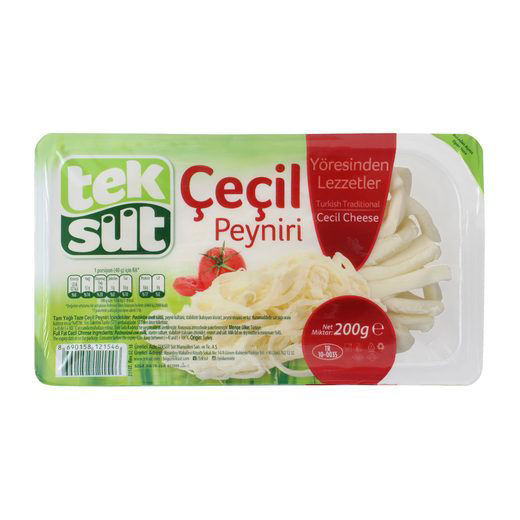TEKSUT Cecil Peyniri 200g resmi