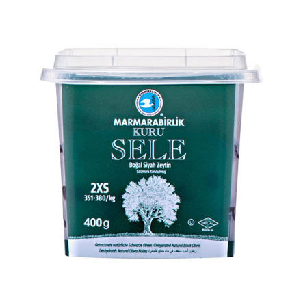 Picture of MARMARABIRLIK Dried Sele Olives 3XS 400g