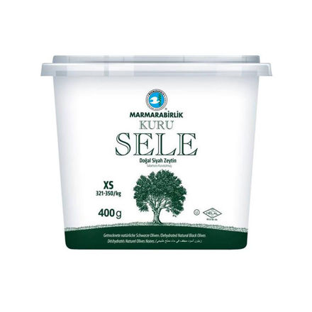 Picture of MARMARABIRLIK Dried Sele Olives XS 400g