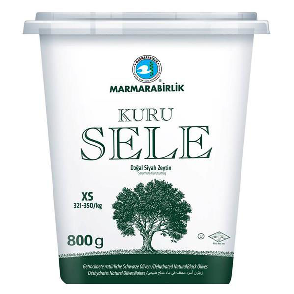 Picture of MARMARABIRLIK Dried Sele Olives XS 800g