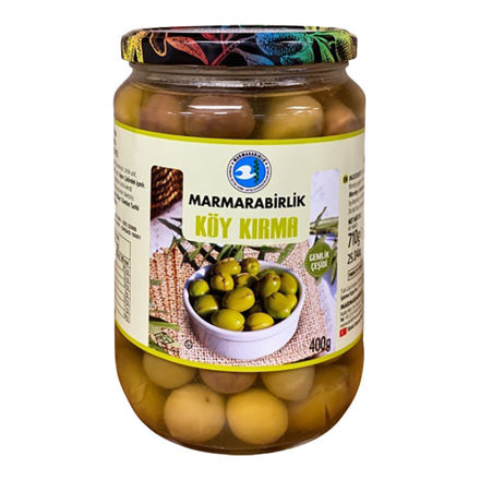 Picture of MARMARABIRLIK Village Style Cracked Green Olives 400g