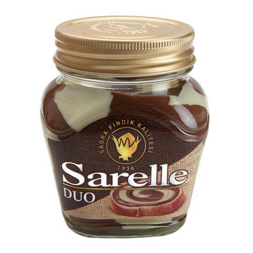 SARELLE Duo Sutlu ve Cikolatali Findik Ezmesi 350g resmi