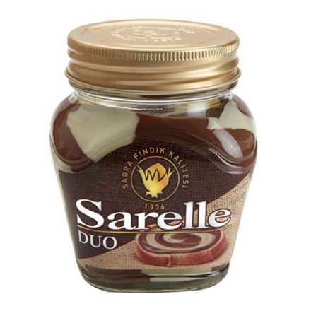 Picture of SARELLE  Duo Milk & Chocolate Hazelnut Paste 350g
