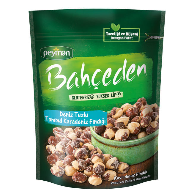 Picture of PEYMAN Salted Roasted Hazelnuts 150g