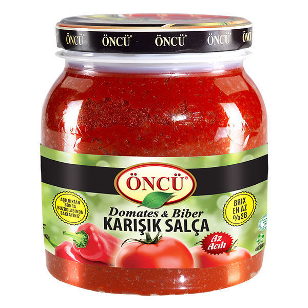 Picture of ONCU Tomato & Pepper Paste Mix 1600g