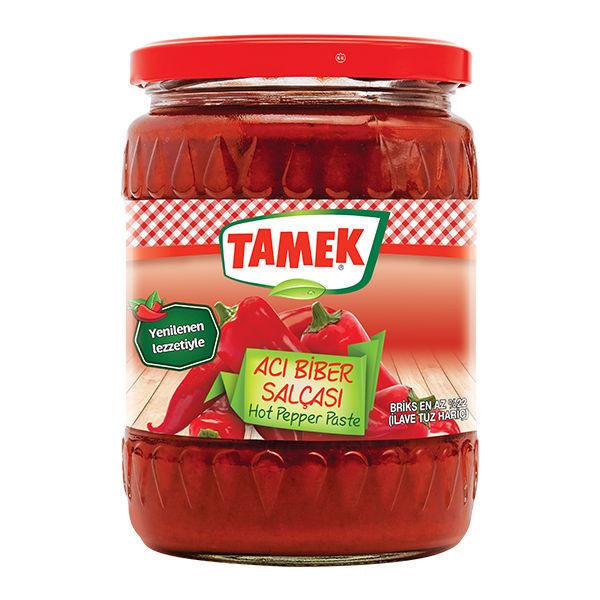 Picture of TAMEK Hot Pepper Paste 550g