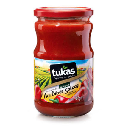Picture of TUKAS Hot Pepper Paste 700g