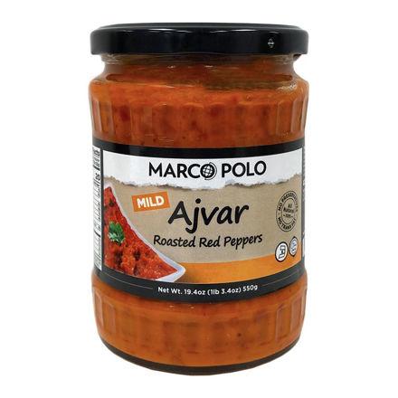 MARCO POLO Ajvar 550g resmi