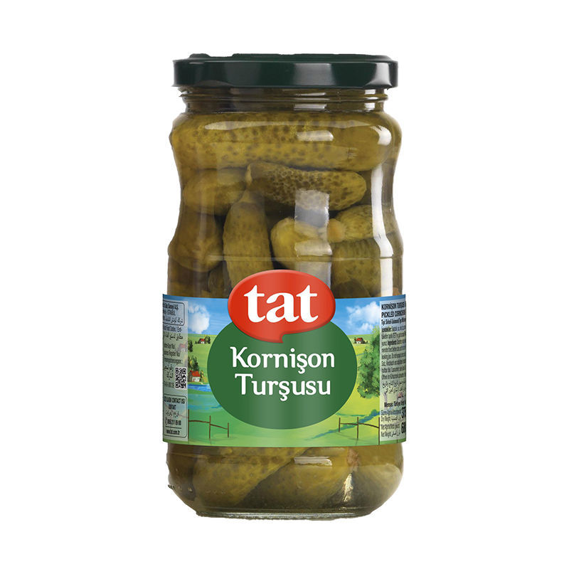 Picture of TAT Gherkin Pickles 720ml