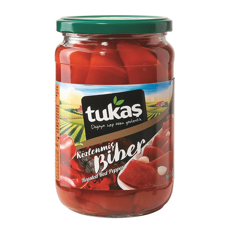 Picture of TUKAS Roasted Peppers 680g