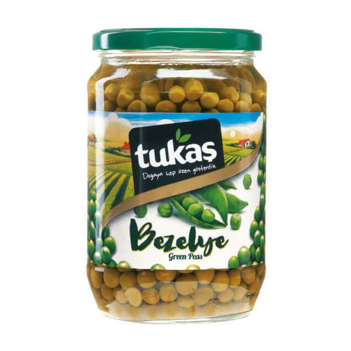 Picture of TUKAS Green Peas 680g