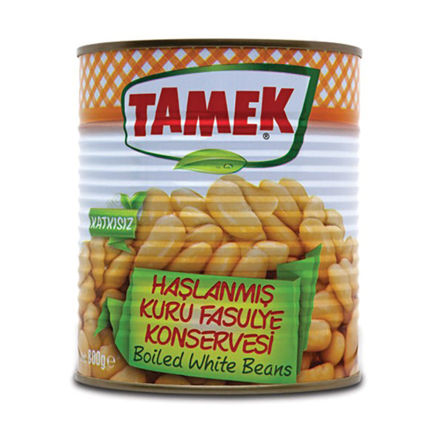 Picture of TAMEK Boiled White Beans 800g