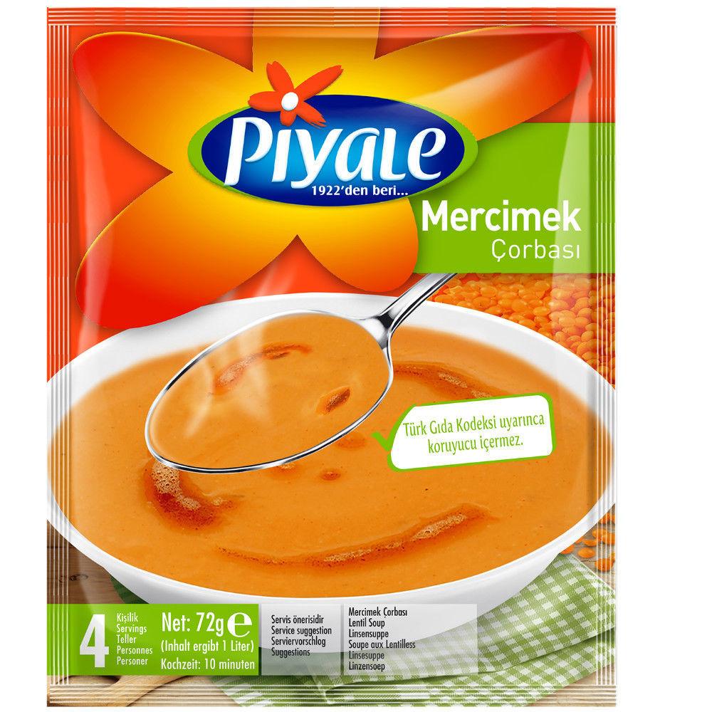 Picture of PIYALE Lentil Soup 65g