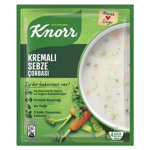 Picture of KNORR Creamy Veggie Soup 65g