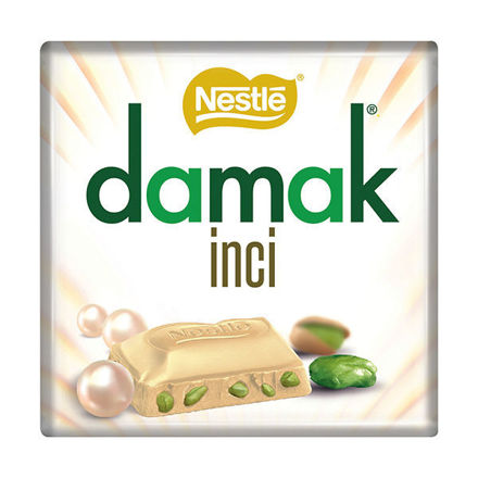 Picture of DAMAK White Chocolate w/ Pistachios 65g