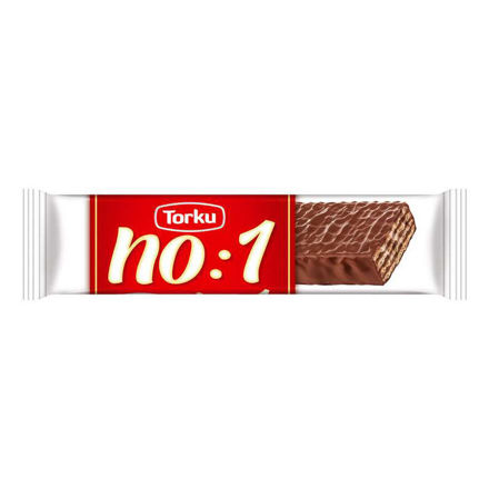 TORKU No:1 Cikolatali Gofret 35g resmi
