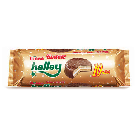 Picture of HALLEY Marshmallow Sandwich Biscuits 300g
