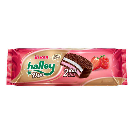 Picture of HALLEY Marshmallow Sandwich Biscuits Duo 300g