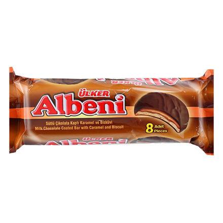 ALBENI Cikolata Kaplamali Karamelli Biskuvi 350g resmi