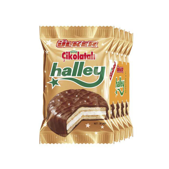 Picture of HALLEY Marshmallow Sandwich Biscuits 150g