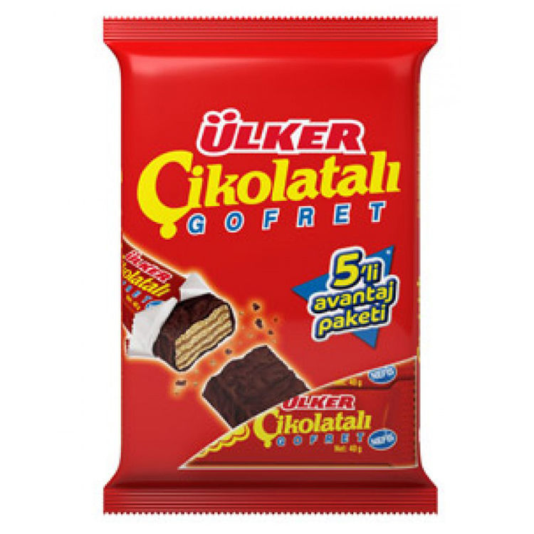 Picture of ULKER Chocolate Wafer 180g