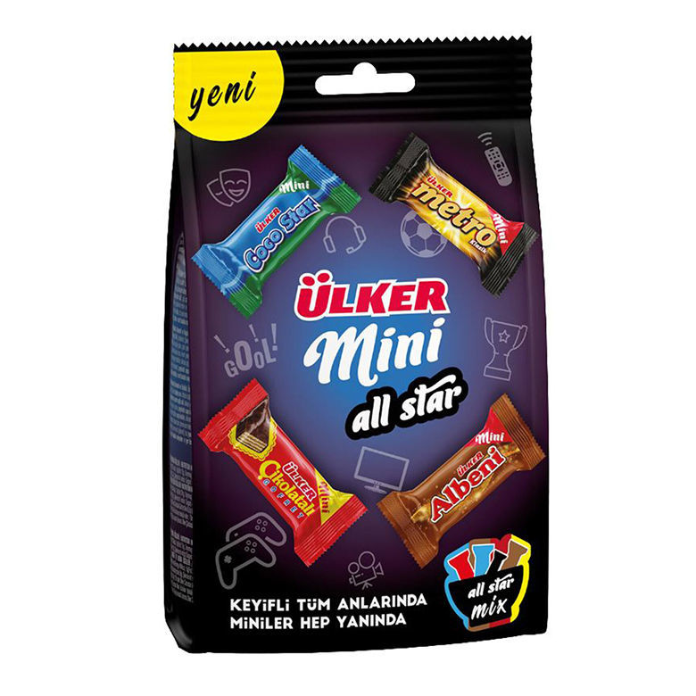 Picture of ALL STAR Mini Chocolate Mix 91g