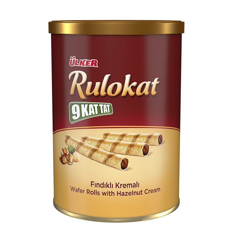 Picture of RULOKAT Wafer Rolls w/ Chocolate 170g