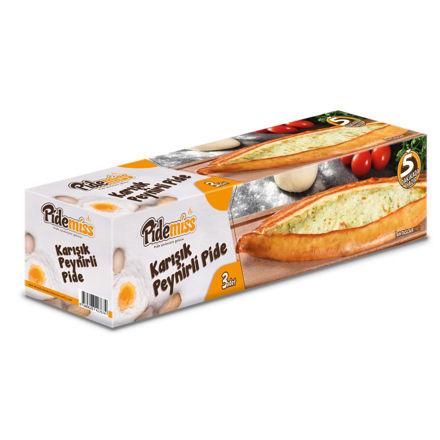 PIDEMISS Karisik Peynirli Pide 3 x 125g resmi
