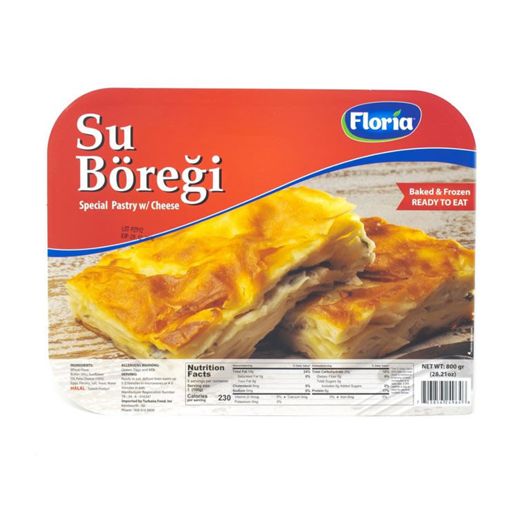 FLORIA Peynirli Su Boregi 800g resmi