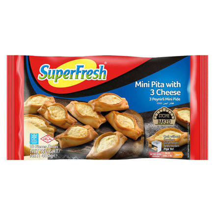 SUPERFRESH Mini Peynirli Pide 400g resmi