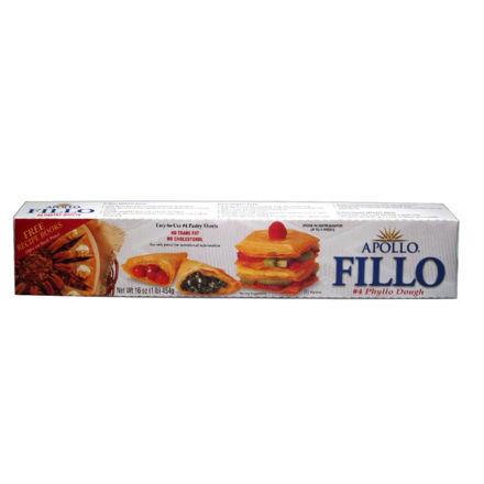 Picture of APOLLO Fillo Dough #4 for Baklava 454g