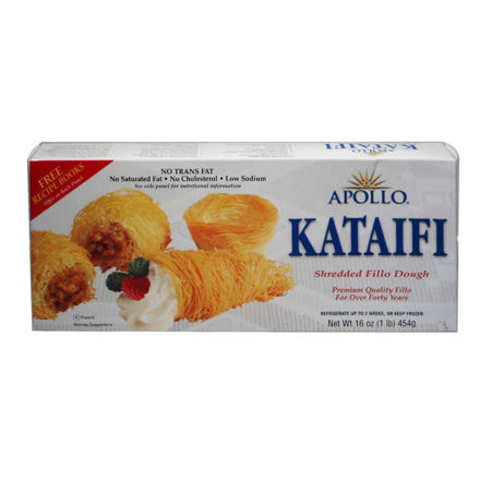 Picture of APOLLO Shredded Dough for  Kataifi 454g