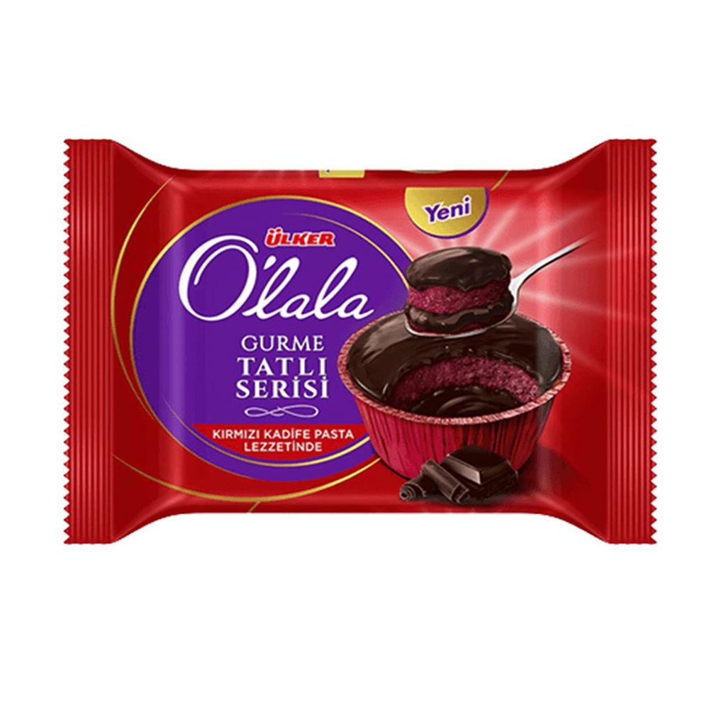 Picture of ULKER Olala Red Velvet Soufflé Cake 70g