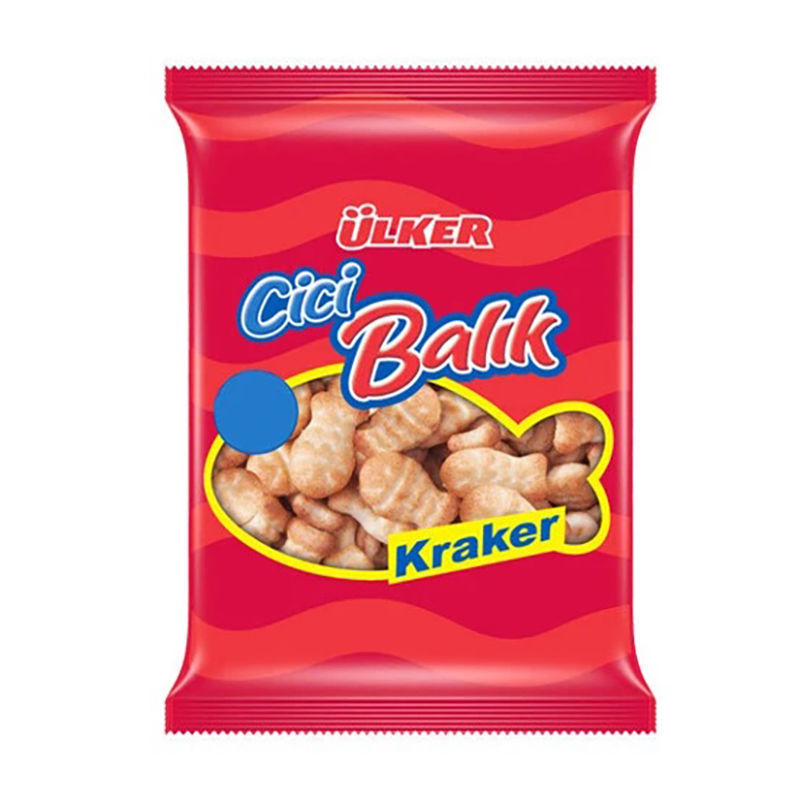 Picture of ULKER Fish Cracker 135g