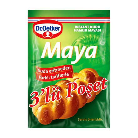 Picture of DR OETKER Yeast 3 x 10g