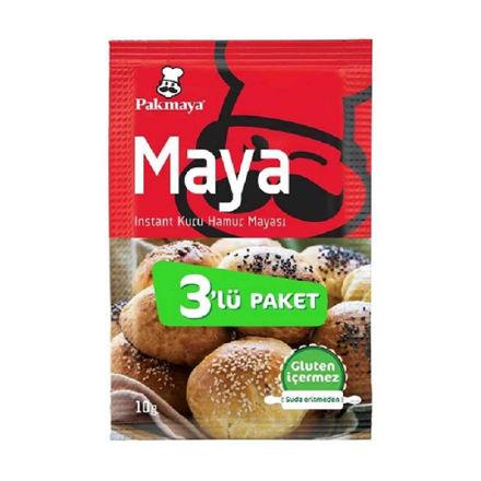 Picture of PAKMAYA Yeast 3 x 10g