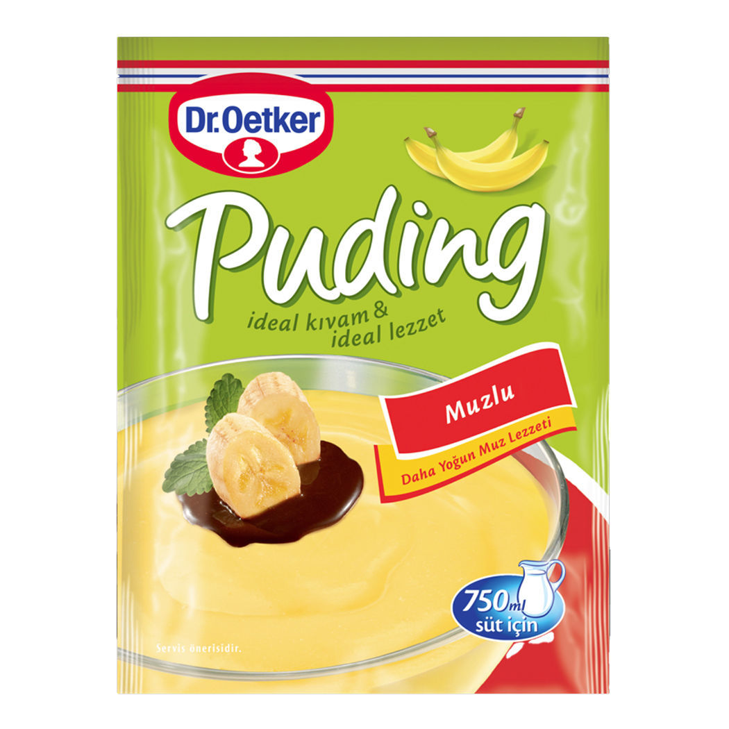 Picture of DR OETKER Banana Pudding 125g