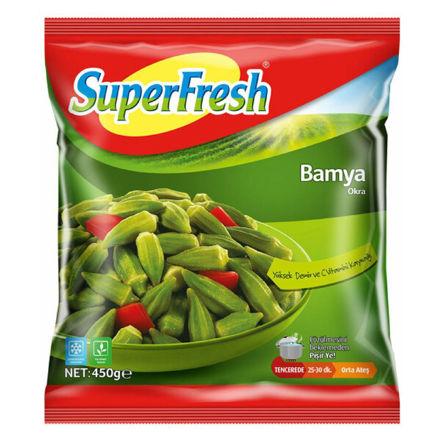 SUPERFRESH Taze Bamya 450g resmi