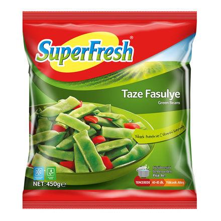 SUPERFRESH Taze Fasulye 450g resmi