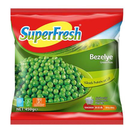 SUPERFRESH Bezelye 450g resmi