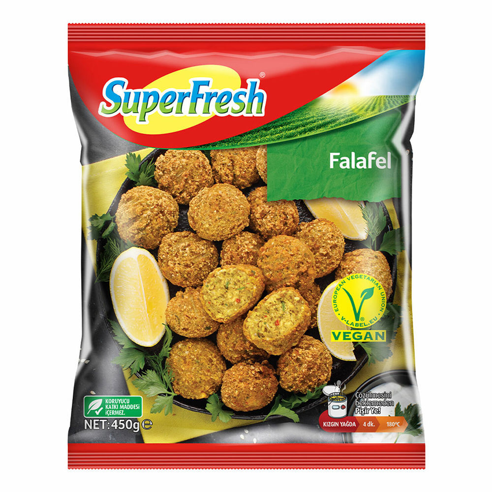 Picture of SUPERFRESH Falafel Balls 450g