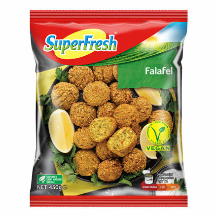 SUPERFRESH Falafel 450g resmi