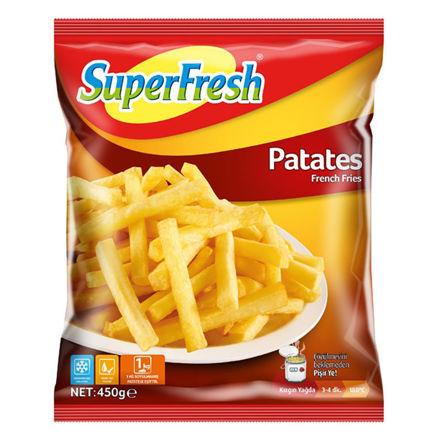 SUPERFRESH Patates 450g resmi