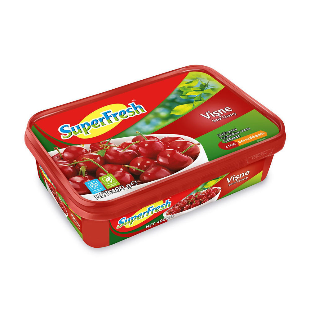 Picture of SUPERFRESH Sour Cherries 400g