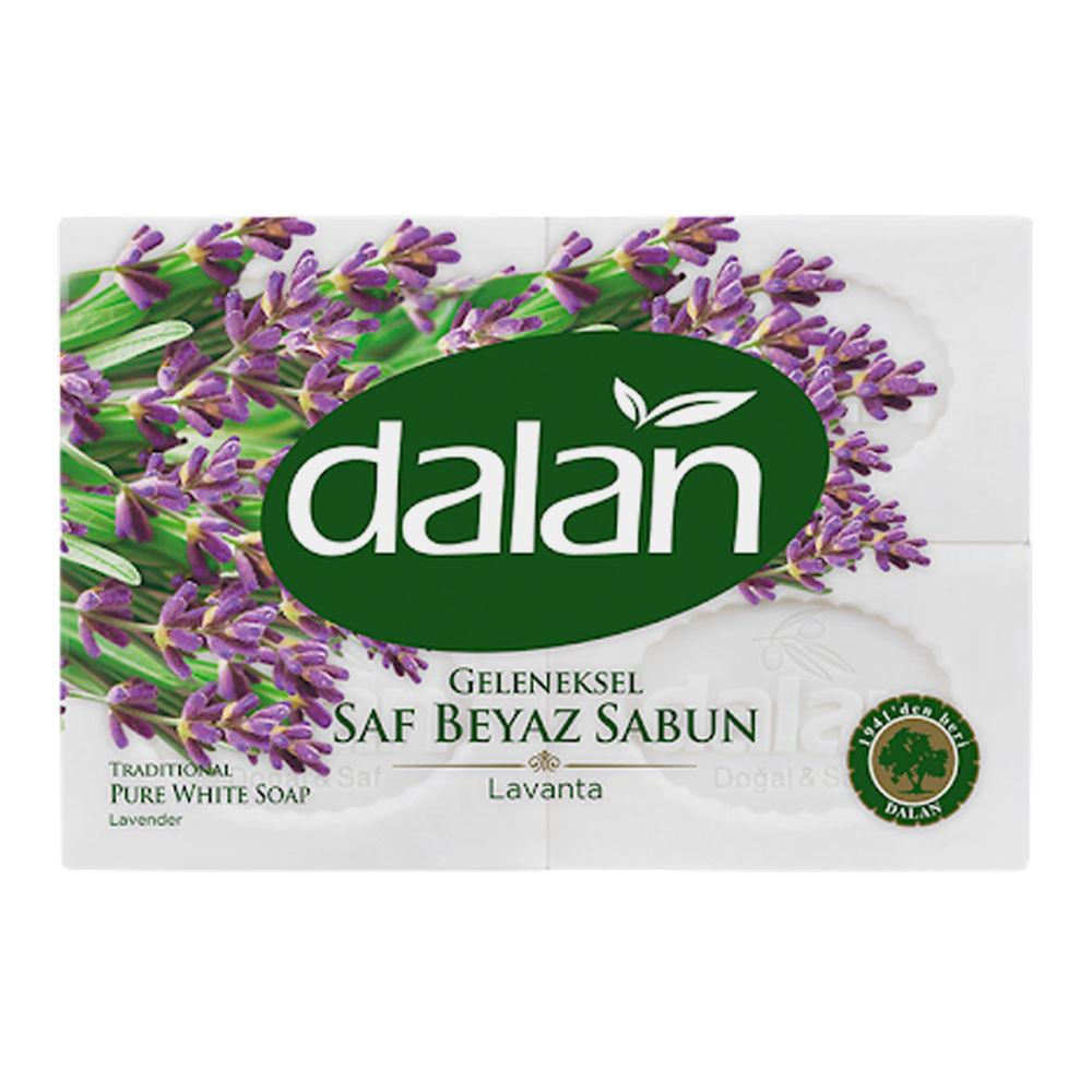 Picture of DALAN Pure White Soap w/ Lavender 4 x 150g