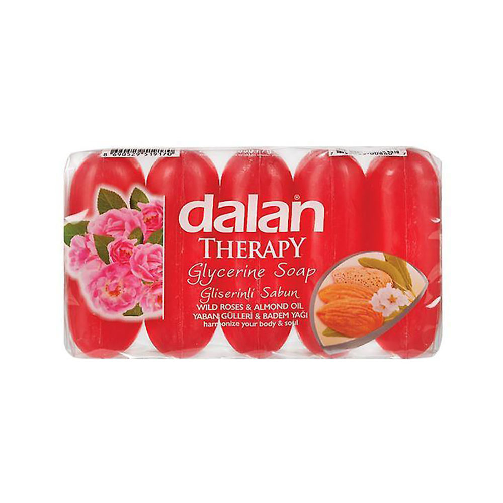 Picture of DALAN Wild Roses And Almond Oil Hand Soap 5 x 70g