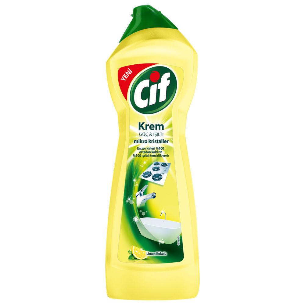 Picture of CIF Cream Lemon Scented 750ml